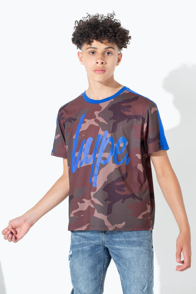 HYPE NORTHERN CAMO KIDS T-SHIRT