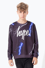 HYPE LIGHTNING KIDS CREW NECK