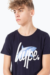 HYPE SHARK SCRIPT KIDS T-SHIRT