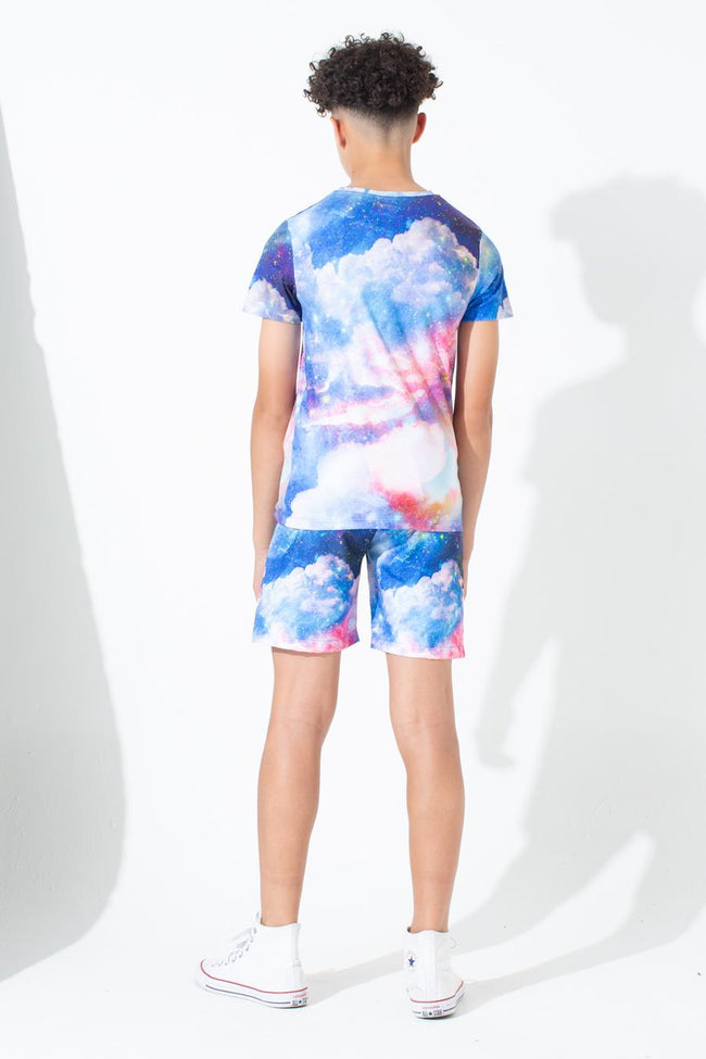 HYPE SUNSET SPACE KIDS SWIM SHORTS