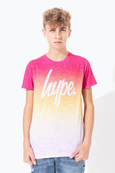 HYPE IBIZA SPECKLE FADE KIDS T-SHIRT