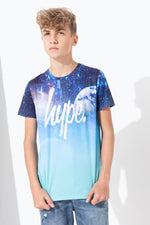 HYPE SPACE FADE KIDS T-SHIRT