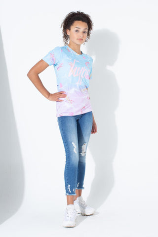 HYPE MERMAID SHELL KIDS T-SHIRT