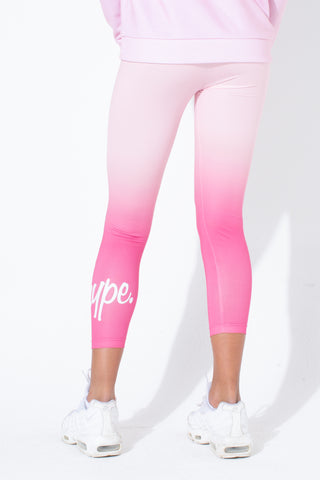HYPE BERRY FADE KIDS LEGGINGS