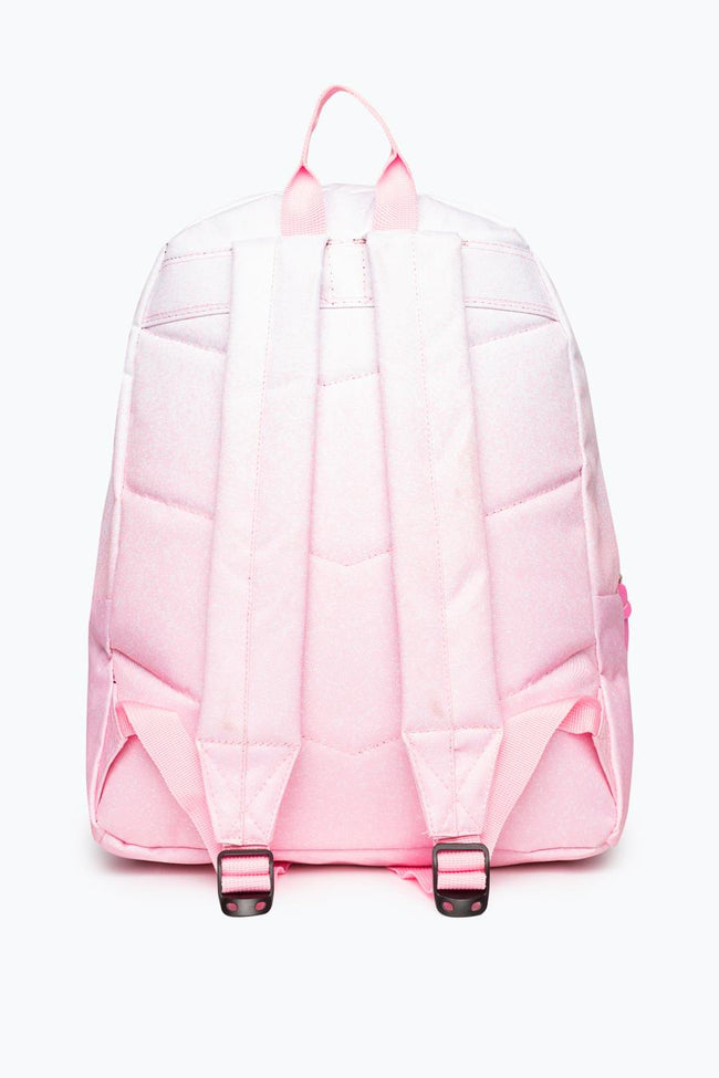 HYPE PINK SPECKLE FADE BACKPACK