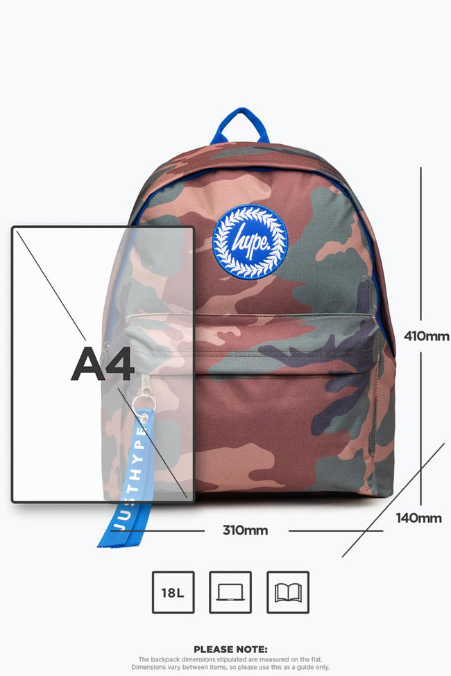 HYPE NORTHERN CAMO BACKPACK