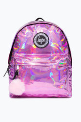 HYPE PINK HOLO BACKPACK