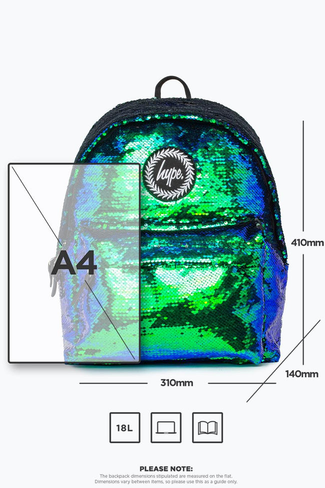 HYPE MERMAID SEQUIN BACKPACK
