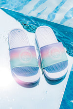 HYPE FAIRGROUND FADE CREST KIDS SLIDERS