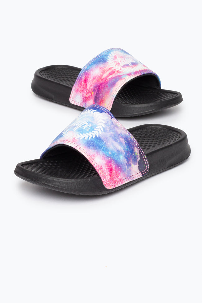 HYPE SUNSET SPACE CREST KIDS SLIDERS
