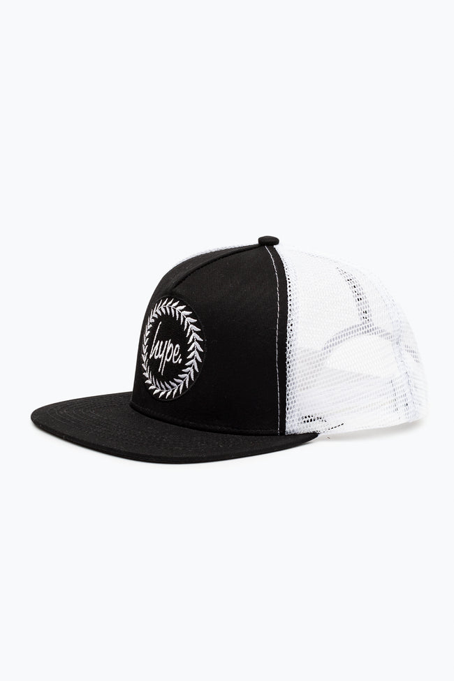 HYPE BLACK TRUCKER HAT