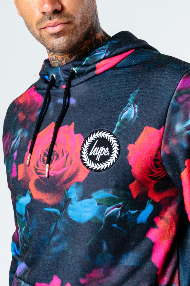 HYPE STEALTH ROSE MEN'S PULLOVER HOODIE