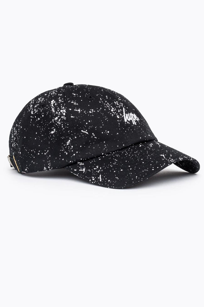 HYPE BLACK WHITE SPECKLE DAD HAT