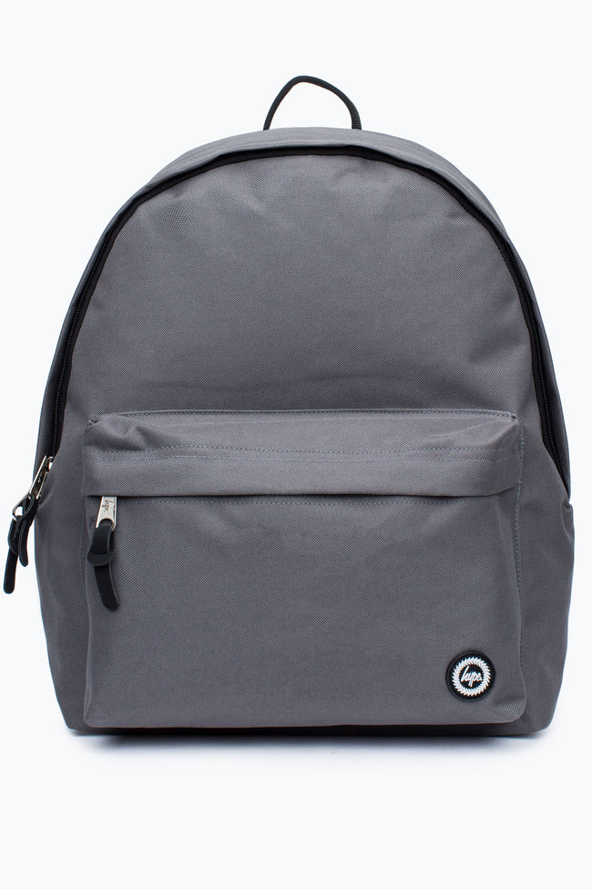 HYPE GREY GUN STEEL BACKPACK