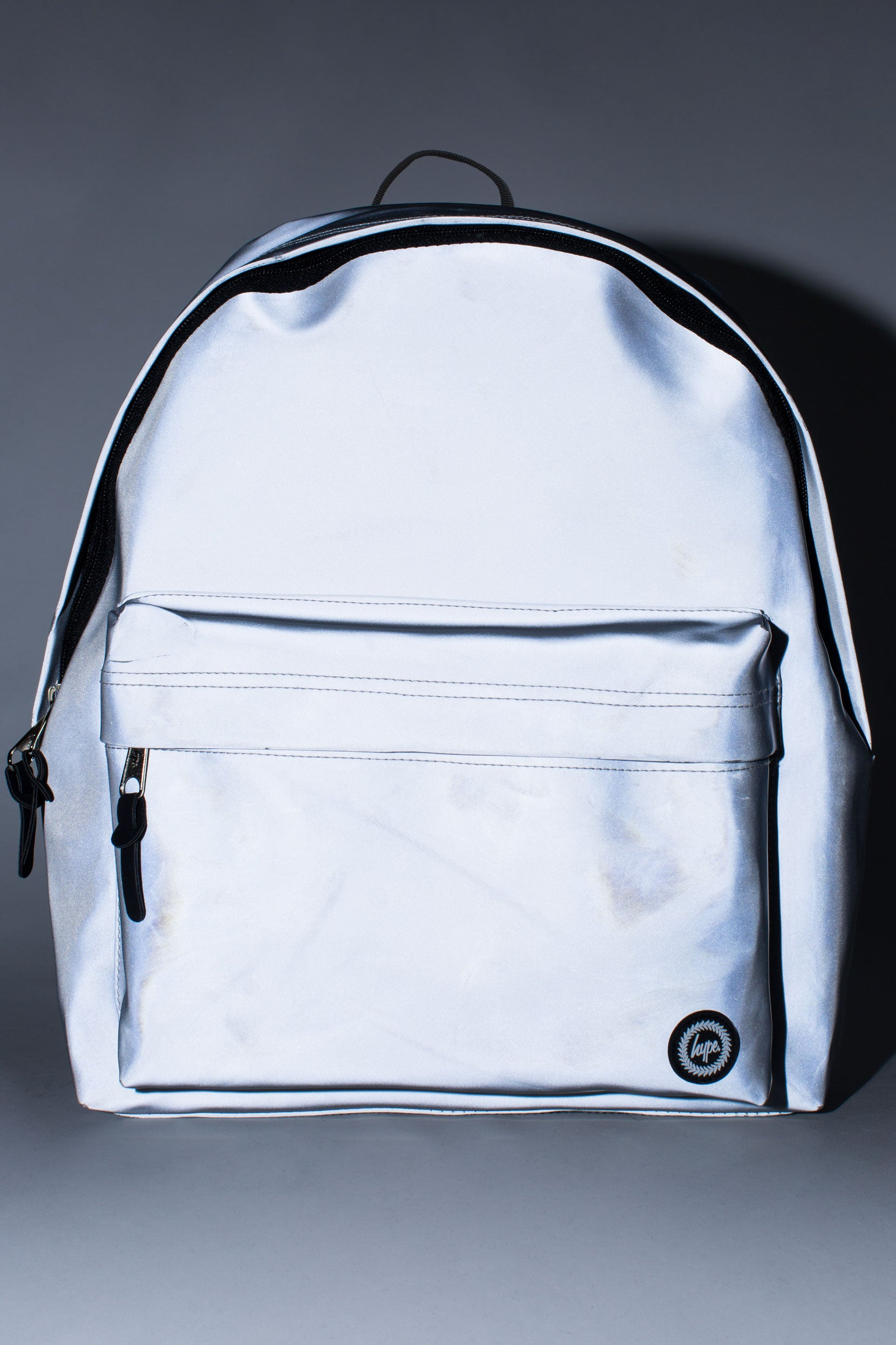 abdb16ee2837 HYPE SILVER STEEL GLOW BACKPACK – JustHype ltd