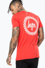 HYPE RED BACK CREST MEN'S T-SHIRT