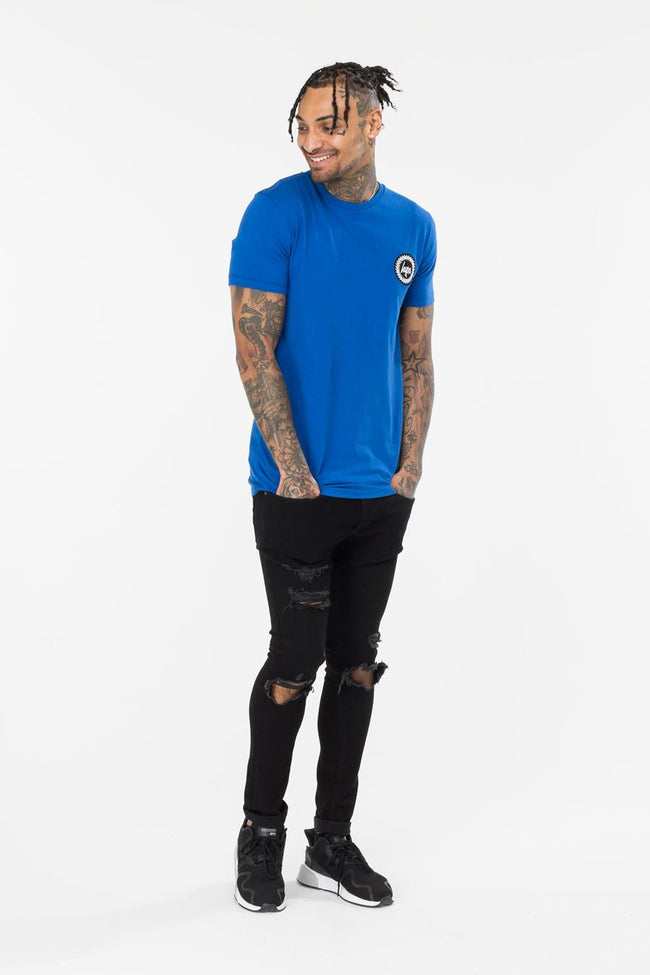 HYPE BLUE JH SPINE MENS T-SHIRT