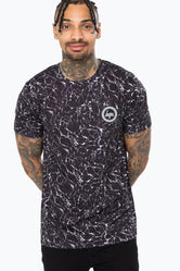 HYPE BLACK OCEAN MEN'S T-SHIRT