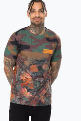 HYPE KHAKI REAL CAMO FADE MEN'S T-SHIRT