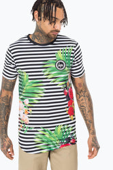 HYPE HAWAIIAN STRIPE MENS T-SHIRT