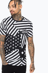 HYPE BLACK DAZZLE CAMO MEN'S T-SHIRT