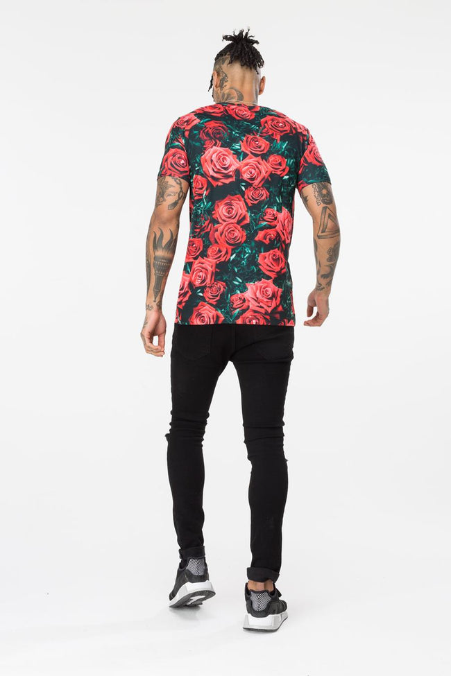 HYPE ROSE BLOCK HYPE MENS T-SHIRT