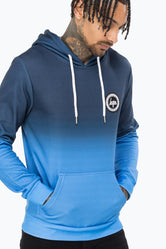 HYPE NAVY FADE MENS PULLOVER HOODIE