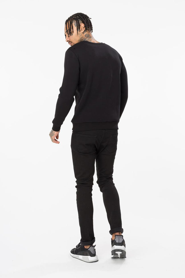 HYPE BLACK FAMILY MADE MENS CREW NECK
