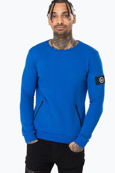 HYPE BLUE JACKSON MENS CREW NECK