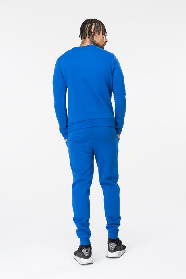 HYPE BLUE CREST MENS CREW NECK