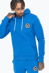 HYPE BLUE CREST MEN'S PULLOVER HOODIE