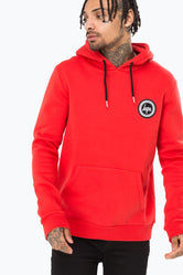 HYPE RED CREST MEN'S PULLOVER HOODIE