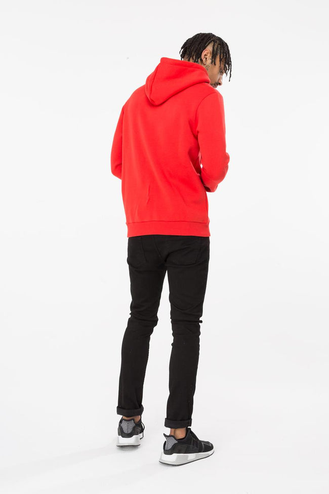 HYPE RED CREST MENS PULLOVER HOODIE