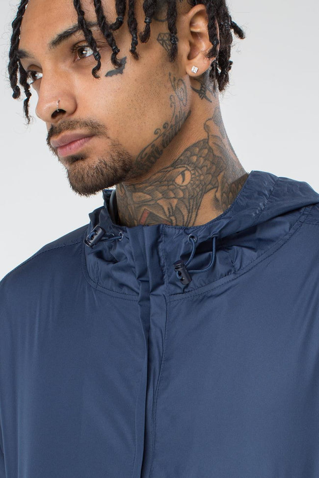 HYPE NAVY INSIGNIA MEN'S PULLOVER JACKET