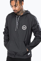 HYPE BLACK CREST MENS PULLOVER JACKET