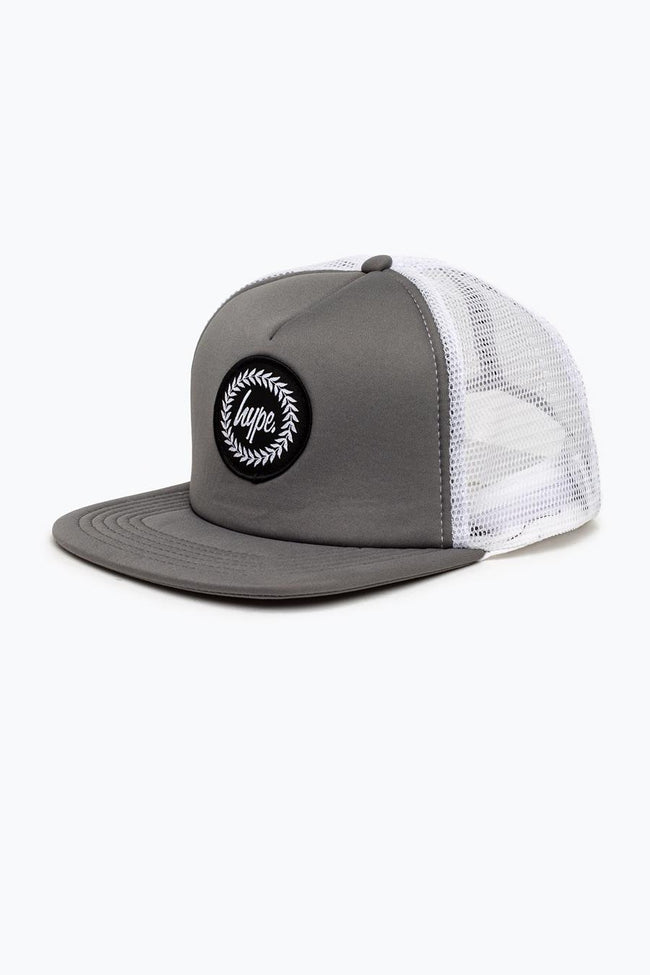 HYPE CHARCOAL CREST TRUCKER HAT