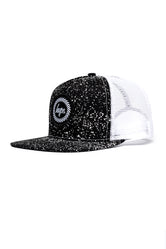 HYPE BLACK SPECKLE CREST TRUCKER HAT