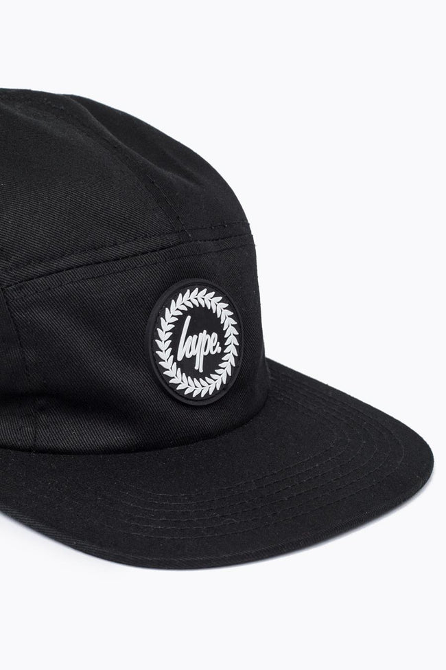 HYPE BLACK JUSTHYPE 5 PANEL HAT