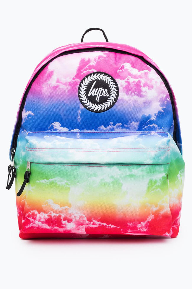 HYPE RAINBOW CLOUDS BACKPACK