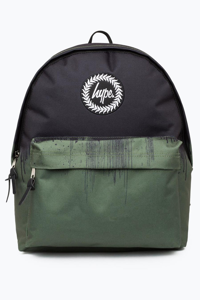HYPE BLACK DRIPS BACKPACK