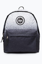 HYPE WHITE BLACK SPECKLE FADE BACKPACK