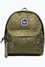 HYPE KHAKI SPECKLE BACKPACK