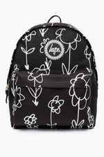 HYPE BLACK HAND FLOWERS BACKPACK