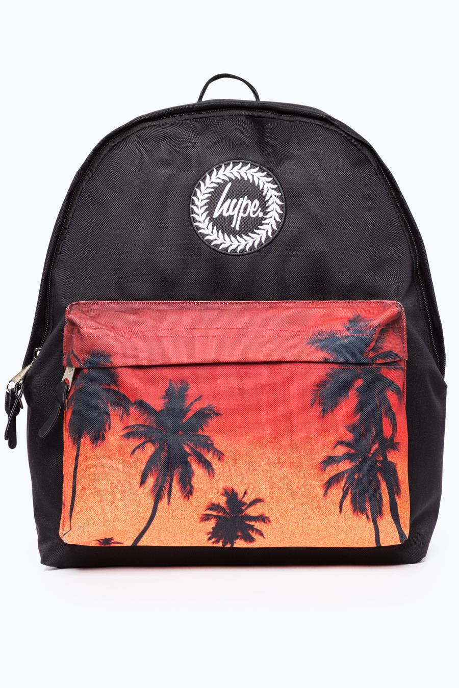 best prices many fashionable skate shoes HYPE BLACK PALM TREE BACKPACK | Justhype ltd