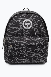 7cd77a64ef HYPE BLACK OUTLINE CAMO BACKPACK