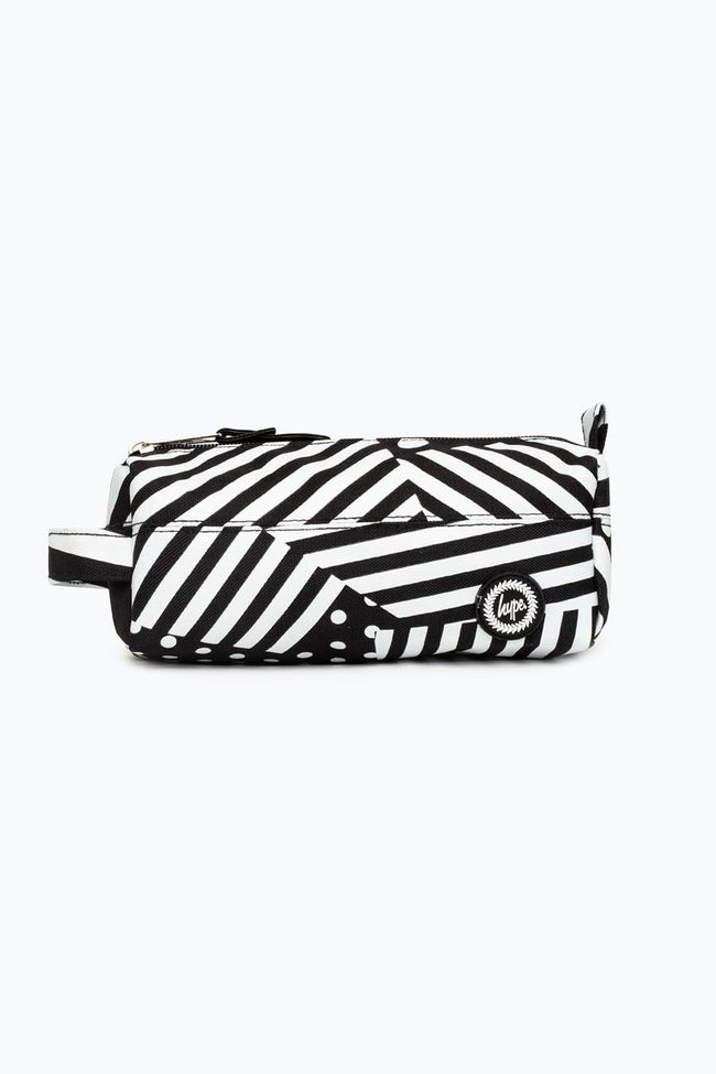 HYPE BLACK SHIP STRIPE PENCIL CASE