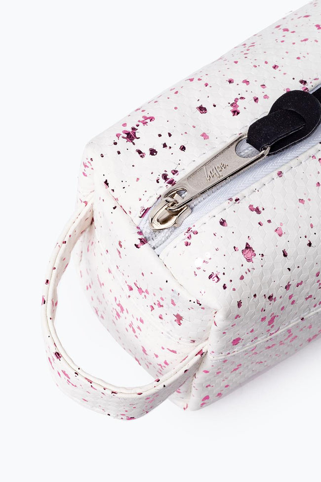 HYPE WHITE FLAKES PENCIL CASE