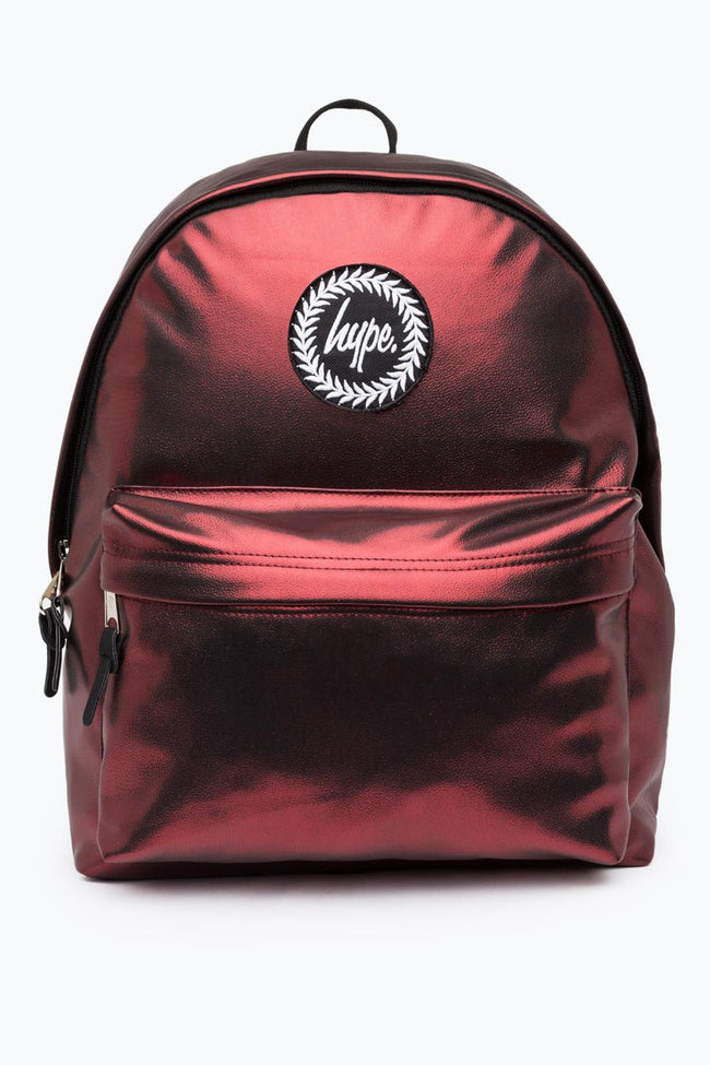HYPE RED MATTE FOIL BACKPACK