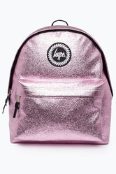 HYPE PINK CRINKLE FOIL BACKPACK
