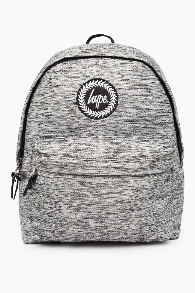 HYPE GREY SCRATCHY BACKPACK